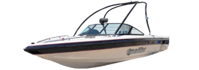 Sunsetter 21 LX Malibu Boat Covers | Custom Sunbrella® Malibu Covers | Cover World
