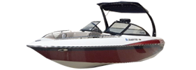 Sunsetter 23 XTI Malibu Boat Covers | Custom Sunbrella® Malibu Covers | Cover World
