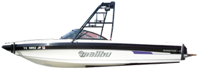 Sunsetter LXI Malibu Boat Covers | Custom Sunbrella® Malibu Covers | Cover World