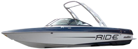 V-Ride 23 Malibu Boat Covers | Custom Sunbrella® Malibu Covers | Cover World