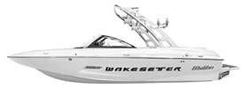 Wakesetter 20 MXZ Malibu Boat Covers | Custom Sunbrella® Malibu Covers | Cover World