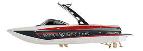 Wakesetter 21 VLX SE Malibu Boat Covers | Custom Sunbrella® Malibu Covers | Cover World