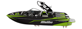 Wakesetter 21 VLX-XTI Malibu Boat Covers | Custom Sunbrella® Malibu Covers | Cover World