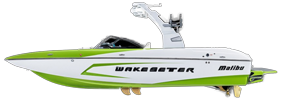 Wakesetter 22 VLX Malibu Boat Covers | Custom Sunbrella® Malibu Covers | Cover World