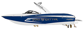 Wakesetter 24 MXZ Malibu Boat Covers | Custom Sunbrella® Malibu Covers | Cover World