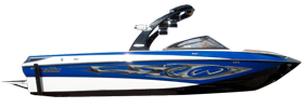 Wakesetter 247 RX Malibu Boat Covers | Custom Sunbrella® Malibu Covers | Cover World