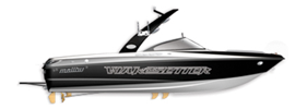 Wakesetter VLX SE Malibu Boat Covers | Custom Sunbrella® Malibu Covers | Cover World