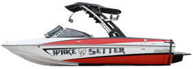 Wakesetter VLX Malibu Boat Covers | Custom Sunbrella® Malibu Covers | Cover World