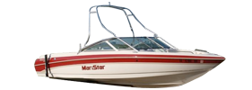 Maristar 230 Sterndrive Mastercraft Boat Covers | Custom Sunbrella® Mastercraft Covers | Cover World