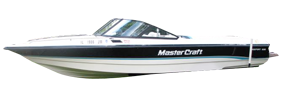 Pro Sport 205 Sterndrive Mastercraft Boat Covers | Custom Sunbrella® Mastercraft Covers | Cover World