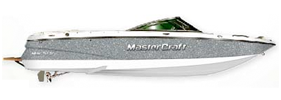 Saltwater SS 230 Sterndrive Mastercraft Boat Covers | Custom Sunbrella® Mastercraft Covers | Cover World
