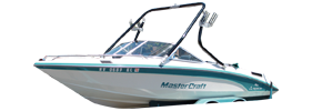 Tri Star 190 Sterndrive Mastercraft Boat Covers | Custom Sunbrella® Mastercraft Covers | Cover World