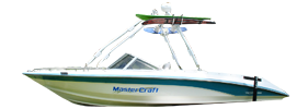 Tri Star 220 Sterndrive Mastercraft Boat Covers | Custom Sunbrella® Mastercraft Covers | Cover World