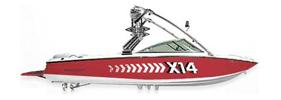X-14 Mastercraft Boat Covers