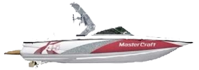 X-45 Mastercraft Boat Covers