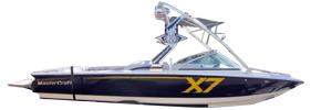 X-7 Mastercraft Boat Covers