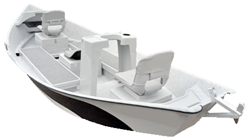 Drift Boat - Specialty Series Motorless Boat Covers