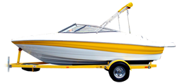 V-hull Runabout Boat with Walk-Thru Transom Runabout Boat Covers | Custom Sunbrella® Runabout Covers | Cover World