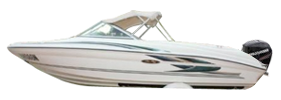 180 Bow Rider Outboard Sea Ray Boat Covers | Custom Sunbrella® Sea Ray Covers | Cover World