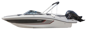 19 SPX Outboard Sea Ray Boat Covers | Custom Sunbrella® Sea Ray Covers | Cover World