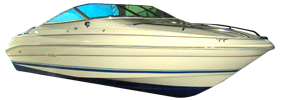 200 Overnighter LTD Sea Ray Boat Covers | Custom Sunbrella® Sea Ray Covers | Cover World