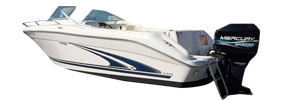 210 Dual Console Sea Ray Boat Covers | Custom Sunbrella® Sea Ray Covers | Cover World