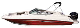240 SDX Outboard Sea Ray Boat Covers