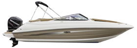 240 Sundeck Outboard Sea Ray Boat Covers | Custom Sunbrella® Sea Ray Covers | Cover World