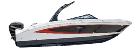 270 SDX Outboard Sea Ray Boat Covers