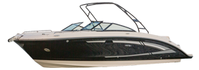 270 Sundeck Sterndrive Sea Ray Boat Covers | Custom Sunbrella® Sea Ray Covers | Cover World