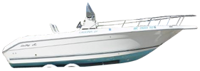 Laguna 21 Center Console Sea Ray Boat Covers | Custom Sunbrella® Sea Ray Covers | Cover World