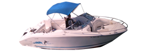 Laguna 21 Dual Console Sea Ray Boat Covers | Custom Sunbrella® Sea Ray Covers | Cover World