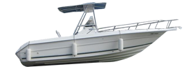 Laguna 24 Center Console Sea Ray Boat Covers | Custom Sunbrella® Sea Ray Covers | Cover World