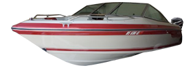 Seville 16 Bow Rider Outboard Sea Ray Boat Covers | Custom Sunbrella® Sea Ray Covers | Cover World
