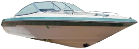 Seville 20 Bow Rider Sea Ray Boat Covers | Custom Sunbrella® Sea Ray Covers | Cover World