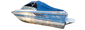 Seville 21 Bow Rider Sea Ray Boat Covers | Custom Sunbrella® Sea Ray Covers | Cover World