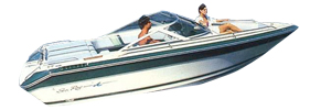 Sorrento 19 Sea Ray Boat Covers | Custom Sunbrella® Sea Ray Covers | Cover World