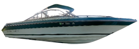 Sorrento 23 Sea Ray Boat Covers | Custom Sunbrella® Sea Ray Covers | Cover World