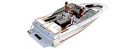 SRV 187 Monaco Sea Ray Boat Covers | Custom Sunbrella® Sea Ray Covers | Cover World
