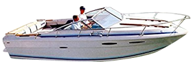 SRV 225 Cuddy Cruiser Sea Ray Boat Covers | Custom Sunbrella® Sea Ray Covers | Cover World