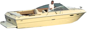 SRV 225 Vanguard XL Sea Ray Boat Covers | Custom Sunbrella® Sea Ray Covers | Cover World