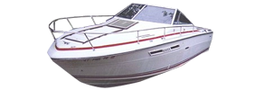 SRV 240 Sundancer Sea Ray Boat Covers | Custom Sunbrella® Sea Ray Covers | Cover World