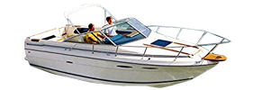 SRV 245 Amberjack Sea Ray Boat Covers | Custom Sunbrella® Sea Ray Covers | Cover World