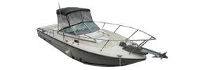 SRV 245 Cuddy Fisherman Sea Ray Boat Covers | Custom Sunbrella® Sea Ray Covers | Cover World