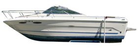 SRV 250 Cuddy Cruiser Sea Ray Boat Covers | Custom Sunbrella® Sea Ray Covers | Cover World