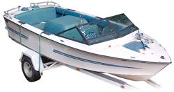 Tournament Ski Boat - Narrow Series Ski & Wakeboard Boat Covers