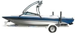 Tournament Ski Boat with Ski Tower Ski & Wakeboard Boat Covers