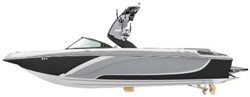 Tournament Ski Boats w/ Swim Platform: Over-the-Tower Cover Ski & Wakeboard Boat Covers