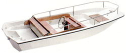 Whaler Style Boats with Bow Rails and Side Rails Whaler Boat Covers | Custom Sunbrella® Whaler Covers | Cover World